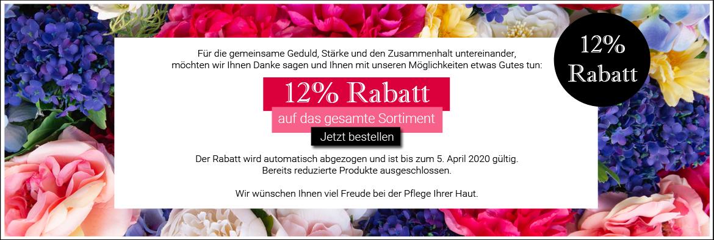 12% RABATT FÜR SIE ♥︎