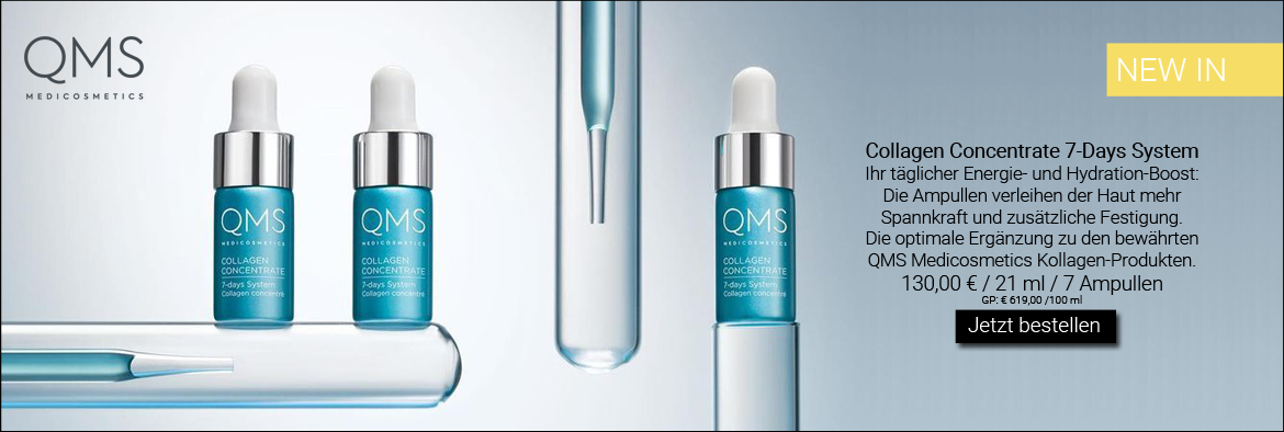 NEW IN: QMS COLLAGEN CONCENTRATE 7-DAYS SYSTEM