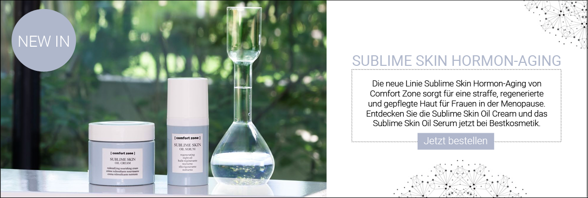 NEW IN: Comfort Zone Sublime Skin Hormon-Aging