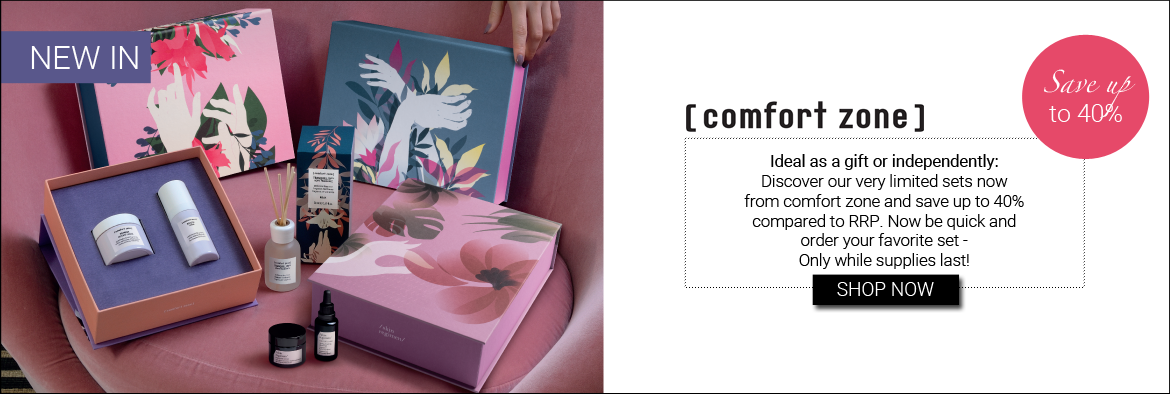 NEW IN: COMFORT ZONE SETS