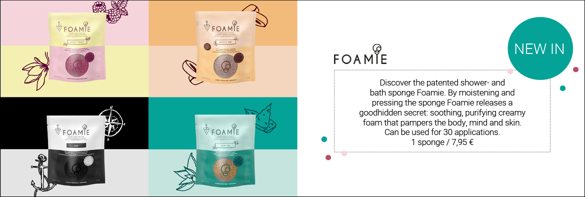 NEW IN: Foamie