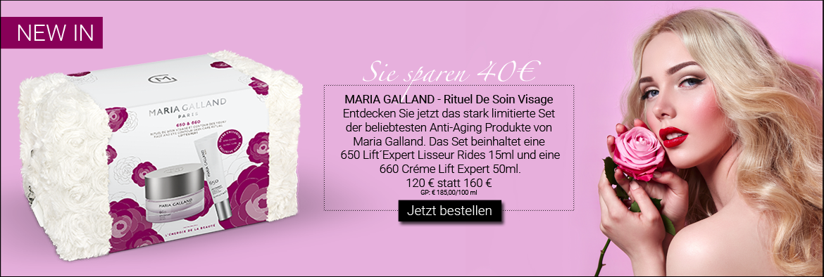 NEW IN: MARIA GALLAND - RITUEL DE SOIN VISAGE