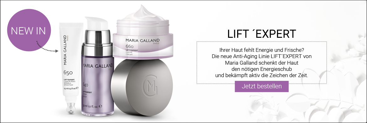 NEW IN: MARIA GALLAND Lift´Expert