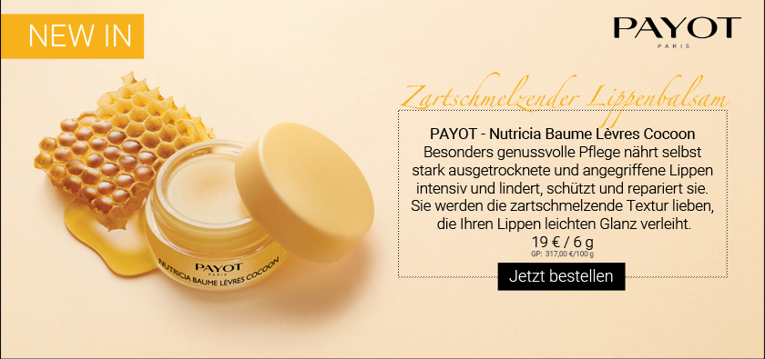 NEW IN: PAYOT - BAUME LÈVRES COCOON