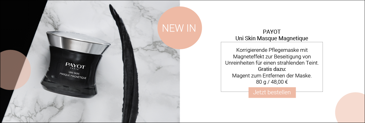 NEW IN: PAYOT Uni Skin Masque Magnetique
