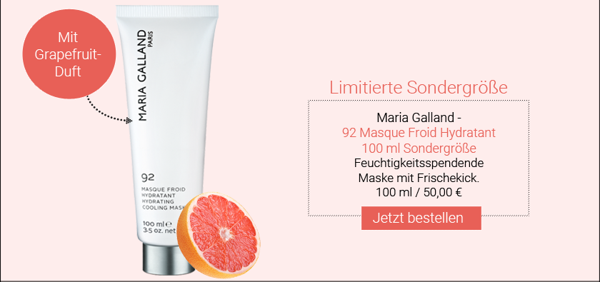 Limitiert: Maria Galland - 92 Masque Froid Hydratant