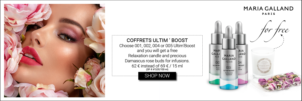 NEW IN: MARIA GALLAND ULTIM BOOST COFFRETS