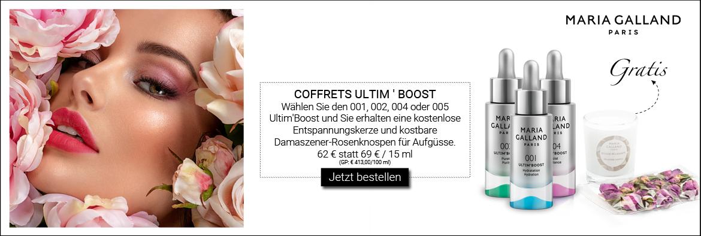 NEW IN: MARIA GALLAND ULTIM BOOST COFFRETS